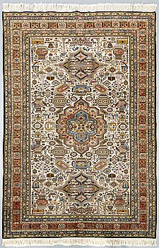 An oriental old carpet ca 261 x 168 cm.