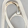 Hermès, moneyclip in silver.