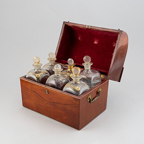 A brandy casket, 19th ct.