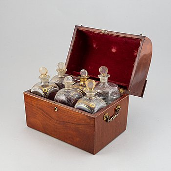 A brandy casket, 19th ct.
