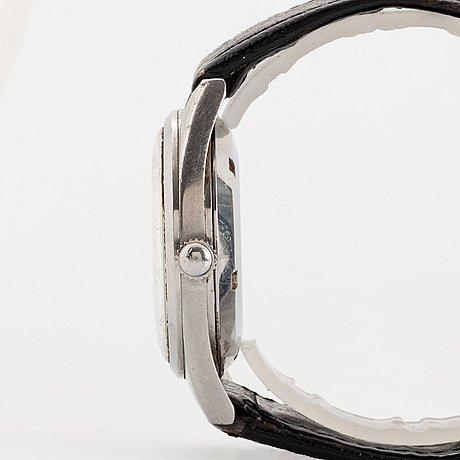 "Omega, railmaster, ""dauphine hands"", wristwatch, 38 mm."