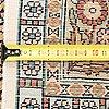 A silk rug qum, 195 x 125 cm.
