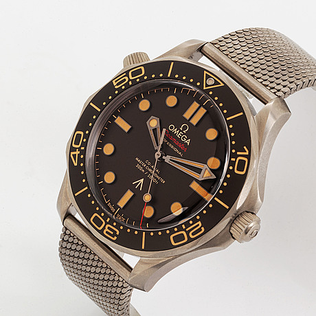 """Omega, seamaster professional, diver 300m, """"007 edition james bond"""", """"no time to die"""", wristwatch, 42 mm."""