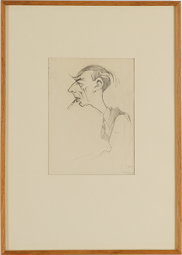 Four signed einar nerman drawings.