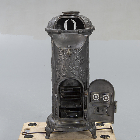 Stove, husqvarna, mikado 20th century cast iron.