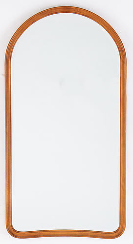 A mid 20th century mirror from glas & trä, hovmantorp.