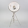 A floor lamp in the shape of a studio lamp. 21th century.
