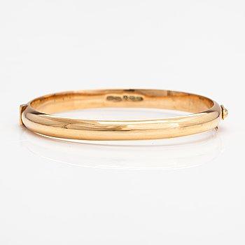 A 14K gold bracelet. Westerback, Helsinki 1956.