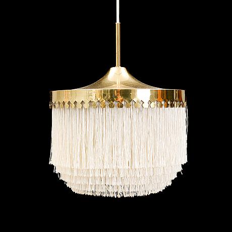 A hans-agne jakobsson ceiling light, markaryd, second half of the 20th century.