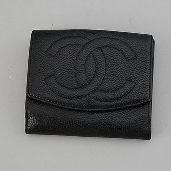 Chanel, wallet.