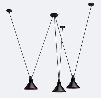 """Bernard-Albin Gras, """"Les Acrobates de Gras 325"""", ceilinglamp."""
