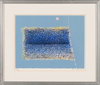 Kimmo Kaivanto, silkscreen, signed and dated -79, numrerad 154/200.