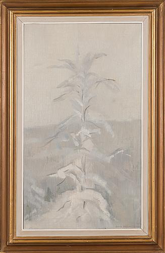 Eero nelimarkka, oil on canvas, signed and dated.