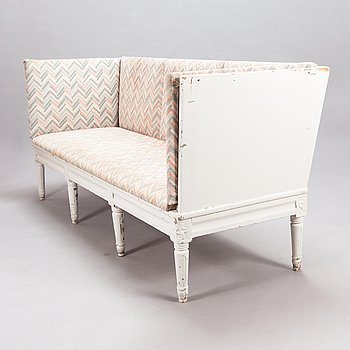 A Gustavian style sofa from early 20th century.