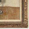 Olle hjortzberg, oil on panel, signed olle hjortzberg and dated -48.