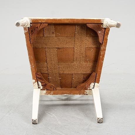 Stolar, 3 st, sengustaviansk stil, tidigt 1900-tal.