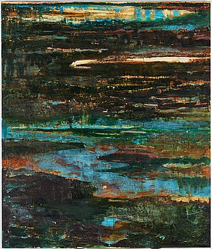 Björn Wessman, oil on canvas, signed and dated 1990 on verso.