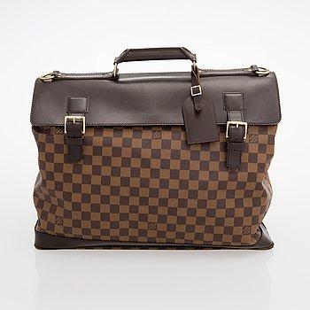 Louis Vuitton, A Damier Ebène 'West End' Travel Bag.