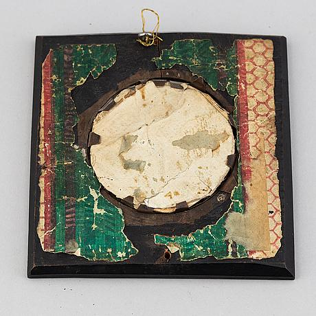 Okänd konstnär 1800-tal, miniatyr. osignerad.