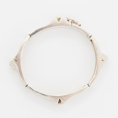 "Björn weckström, ""ceres"", bracelet, sterling silver, lapponia 1970."