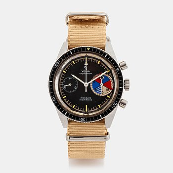 "28. Yema, Yachtingraf, chronograph, ""Patent Pending Dial""."