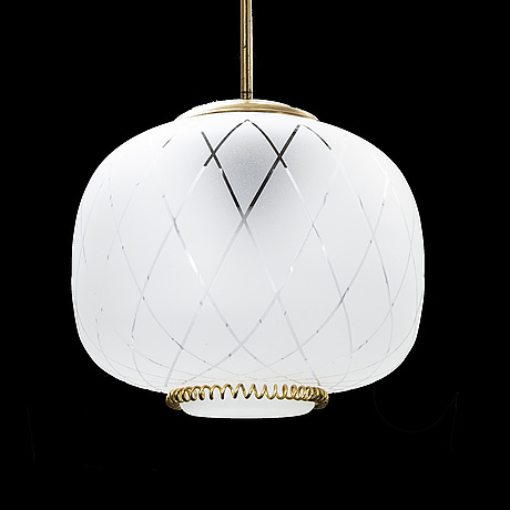 A finnish ceiling lamp, stockman orno.