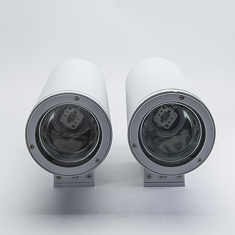 Exterior lighting, 2 pcs, italy, contemporary.