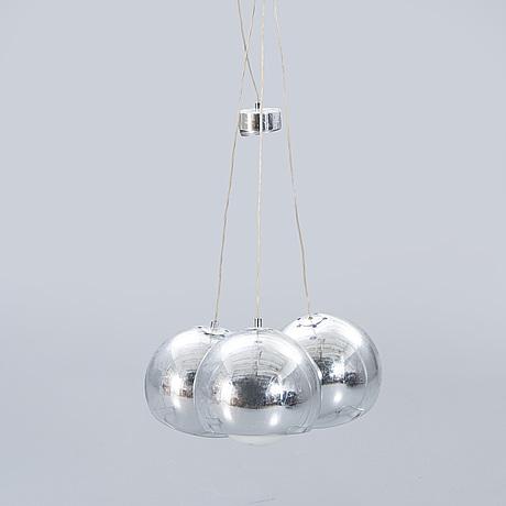 "Zumbotel, ceiling lights, 3 pcs, ""sconfine sfera""."