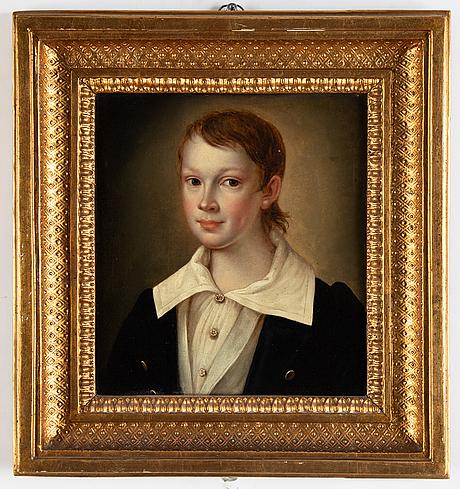 Unknown artist, around 1830, oil on metal.