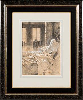 Albert Edelfelt, Illustration.