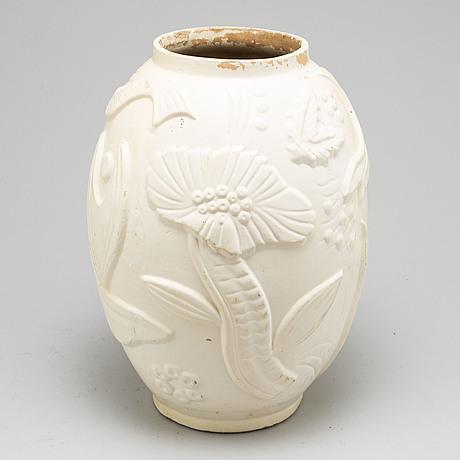 Anna-lisa thomson an earthenware vase, upsala ekeby, 1940's/50's.