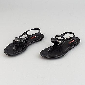 Prada, sandals, size 36 1/2.