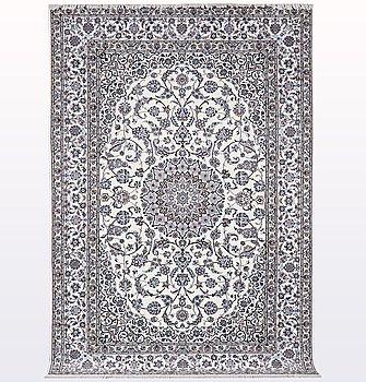 Matto, Nain, part silk , so called 6 LAA, ca 316 x 207 cm.