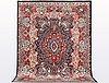 A carpet, kashmar, ca 378 x 300 cm.