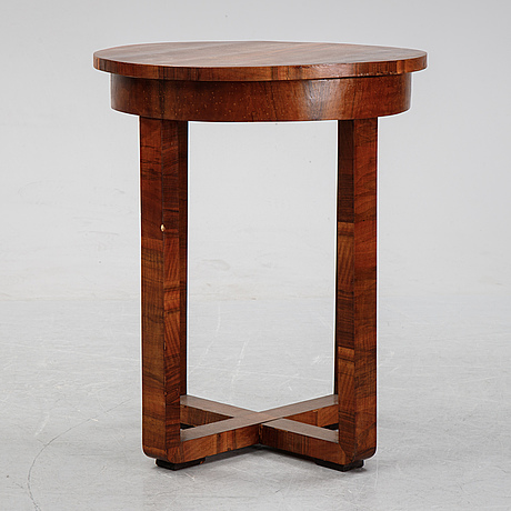 An art deco style table, end of the 20th century.