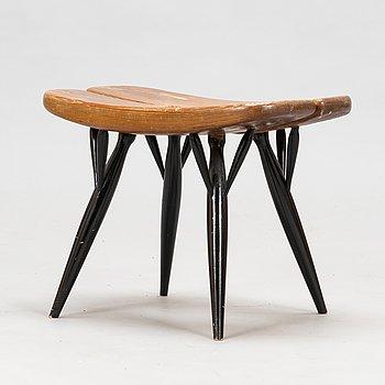 Ilmari Tapiovaara, a 1960's 'Pirkka' stool for Laukaan Puu.