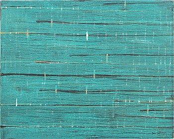 Juan Sotomayor, a signed acrylic on canvas.