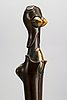 Paul wunderlich, a signed and numbered bronze sculpture.