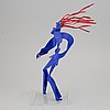Timo solin, sculpture, metal, signed and dated -21.