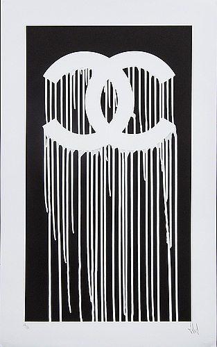 Zevs, a signed and numbered serigraph.