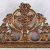 A pair of danish mirrors, 18th century.