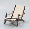 "Recliner / armchair, ""safari model"", 1960s-70s."