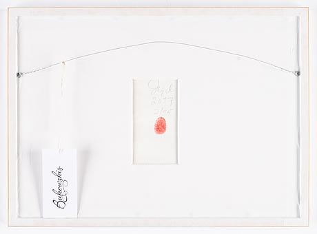 Dawid, pigment print, 2017, signed 2/25.