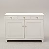 A painted sideboard, second half of the 20th century.
