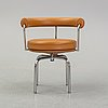 Charlotte perriand & pierre jeanneret le corbusier, stol, lc 7, cassina, formgiven 1927.