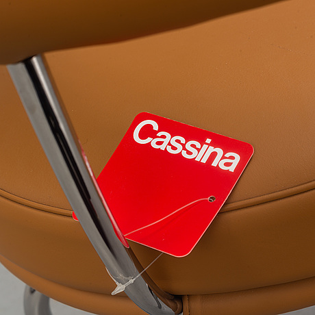 A 'lc 7' chair by charlotte perriand & pierre jeanneret for cassina, designed 1927.
