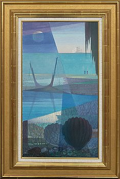 Sven Jonson, a signed oil on canvas.