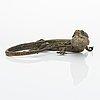 Franz bergmann, articulated lizard, vienna, early 20th century.