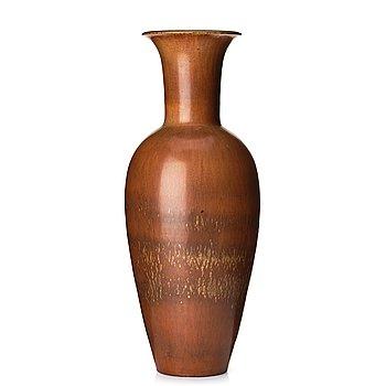 102. Gunnar Nylund, a mid 20th century stoneware floor vase, Rörstrand, Sweden.