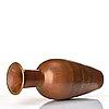 Gunnar nylund, a mid 20th century stoneware floor vase, rörstrand, sweden.